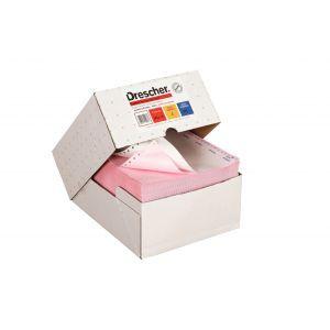 Papier komputerowy składanka, kolor, nadruk, 240x12, 1+4
