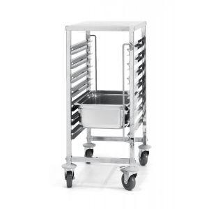 Wózek 7-półkowy - do transportu pojemników GN 1/1 - kod 810668