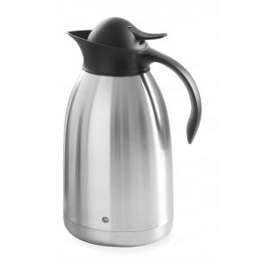 Steel coffee thermos with push button - 2 l