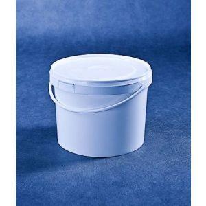 Wiaderko 5L białe, cena za opakowanie 25 sztuk