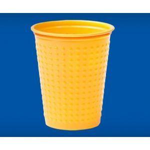 Kubek BICOLOR 200ml, pomarańcz/żółty cena za 40 sztuk