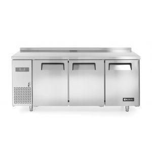 Stół mroźniczy Kitchen Line 3-drzwiowy z agregatem bocznym - kod 233399