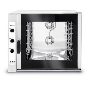 6X Gn 2/1 combi steamer, electric - manual control