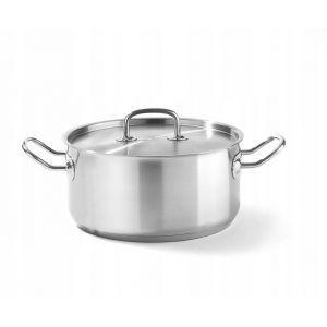 Kitchen Line low pot with lid 5L
