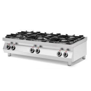 6-burner gas cooker Kitchen Line, table top 227398