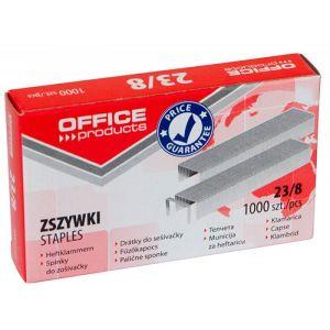Zszywki OFFICE PRODUCTS, 23/8, 1000szt.