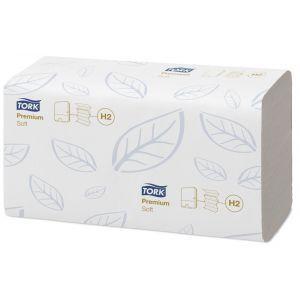 Ręcznik Tork Xpress Premium biały miękki H2 - 210x340cm - 2310 listków - Celuloza