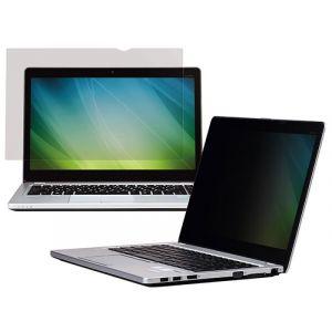 """Bezramkowy filtr prywatyzujący 3M™ (PF156W9B), do laptopów, 16:9, 15,6"""", czarny"""