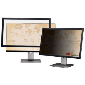 """Ramkowy filtr prywatyzujący 3M™ (PF320W), do monitorów, 16:10, 20"""", czarny"""