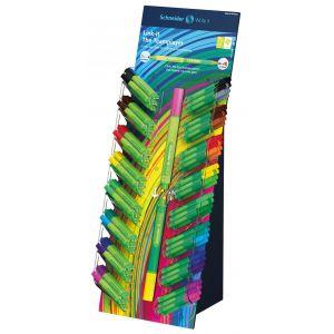 Display Cienkopis/Flamaster SCHNEIDER Link-It, 80szt. + 80szt. mix kolorów