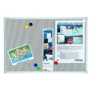 Tablica magnetyczno-tekstylna FRANKEN Xtra!Line, 120x90cm, rama aluminiowa