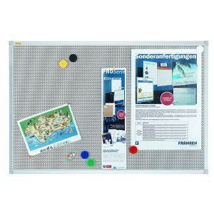 Tablica magnetyczno-tekstylna FRANKEN Xtra!Line, 60x45cm, rama aluminiowa