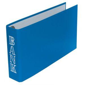 Segregator DONAU Bankorder, 1/3 A4, 30mm, niebieski