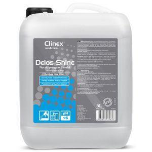 Płyn do pielęgnacji mebli CLINEX Delos Shine 5L 77-146, pozostawia połysk