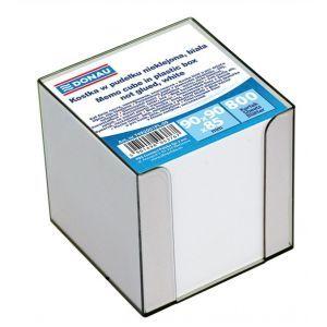 Kostka DONAU nieklejona, w pudełku, 95x95x95mm, ok. 800 kart., biała