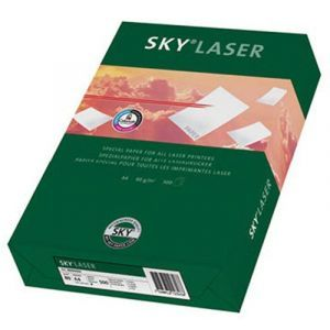 Papier kserograficzny SKY Laser, A4, klasa B, 80gsm, 500ark.