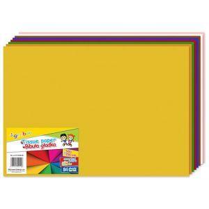 Bibuła gładka GIMBOO, w składkach, 50x70cm, 24ark., mix kolorów