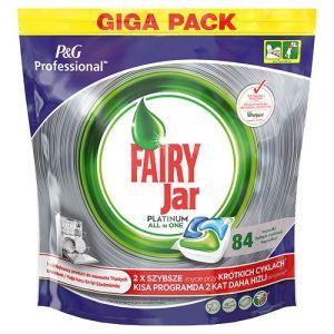 Dishwasher tablets FAIRY JAR Platinium, professional, 84 pcs
