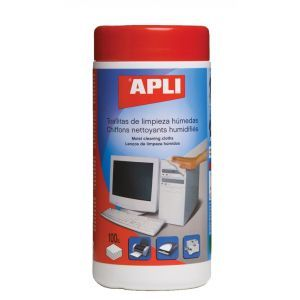Ściereczki do czyszczenia obudów APLI, tuba, 100szt.