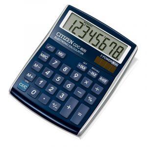 Office calculator CITIZEN CDC-80WB, 8 digits, 135x105mm, blue