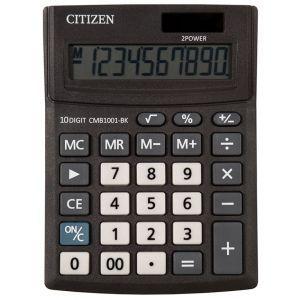 Office calculator CITIZEN CMB1001-BK Business Line, 10 digits, 137x102mm, black