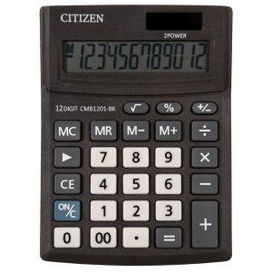 Office calculator CITIZEN CMB1201-BK Business Line, 12 digits, 137x102mm, black