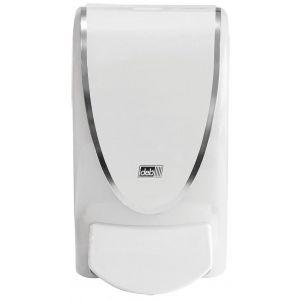 Dozownik mydła w pianie DEB Proline Chrome Border, 1000ml, biały