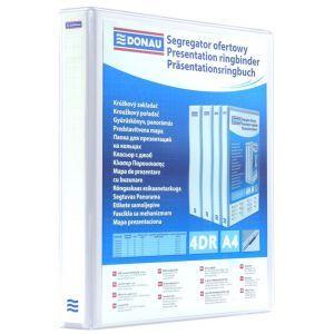 Segregator ofertowy DONAU, PP, A4/4RD/20, biały