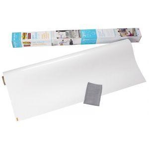 Suchościeralna folia w rolce POST-IT® Dry Erase (DEF4X3-EU), 91x122cm, biała