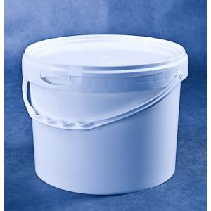 Wiaderko plastikowe PP 10L białe, op. 25 szt.