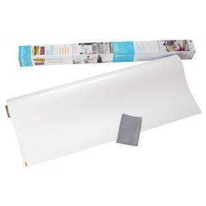 Suchościeralna folia w rolce POST-IT® Dry Erase (DEF4X3-EU), 61x91cm, biała
