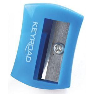 Pencil sharpener KEYROAD Cute, plastic single, tube, color mix