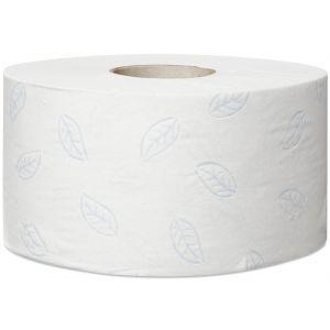 Papier toal. w mini jumbo roli Tork Premium, biały T2 9,7x20cm - 170m - 850 listków - Makulatura, 110253