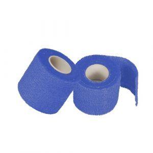 Plaster samoprzylepny, 5m x 5cm op.6szt kolor: niebieski (k/12)