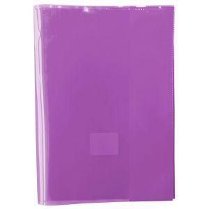 Okładka na zeszyt GIMBOO, krystaliczna, A5, 150mikr., fioletowa