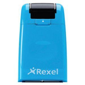 Rolka maskująca dane REXEL ID Guard, niebieska