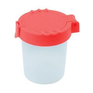 No-spill Water Cup GIMBOO, 150ml, assorted colors