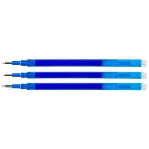 Wkład do długopisu wymazywalnego Q-CONNECT, 1,0mm, 3szt., zawieszka, niebieski