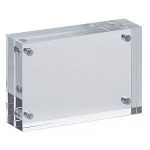 Photo frame MAUL, acrylic, 75x50x20mm, transparent