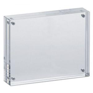 Ramka na zdjęcia MAUL, akrylowa, 115x90x24mm, transparentna