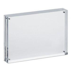 Ramka na zdjęcia MAUL, akrylowa, 150x115x24mm, transparentna