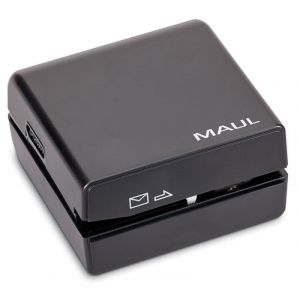 Elektryczny otwieracz do listów MAUL, czarny