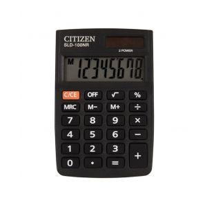 Pocket calculator CITIZEN SLD-100NR, 8 digits, 88x58mm, black