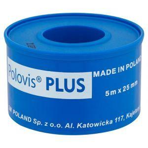 Przylepiec tkaninowy VISCOPLAST Polovis, 25mmx5m, biały
