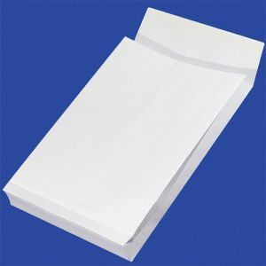Koperty RBD z taśmą silikonową OFFICE PRODUCTS, HK, C4, 229x324mm, 130gsm, 250szt., białe