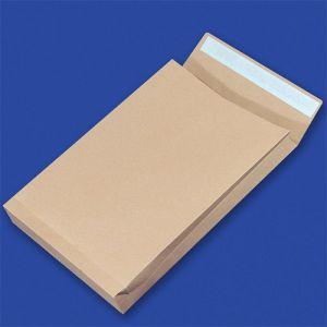 Koperty RBD z taśmą silikonową OFFICE PRODUCTS, HK, E4, 280x400mm, 150gsm, 250szt., brązowe