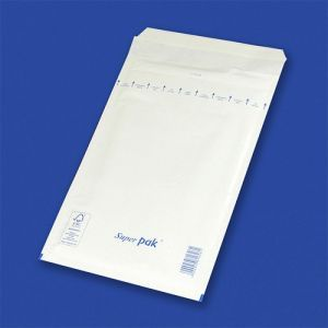 Koperty samoklejące z folią bąbelkową OFFICE PRODUCTS, HK, B12, 120x215mm/140x225mm, 10szt., białe