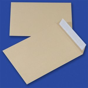 Koperty z taśmą silikonową OFFICE PRODUCTS, HK, B4, 250x353mm, 90gsm, 250szt., brązowe