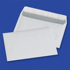 Koperty z taśmą silikonową OFFICE PRODUCTS, HK, C6, 114x162mm, 80gsm, 1000szt., białe