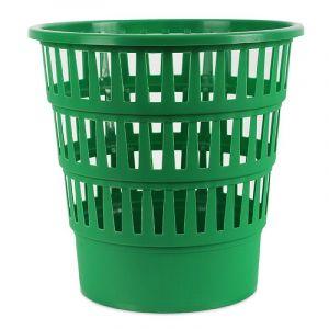 Kosz na śmieci OFFICE PRODUCTS, ażurowy, 16l, zielony